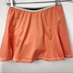 New Balance peach athletic skort